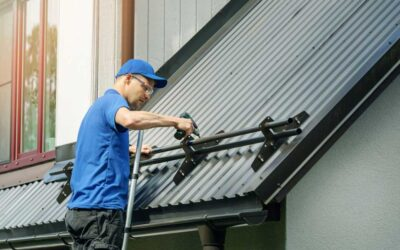 How do you maintain a metal roof?